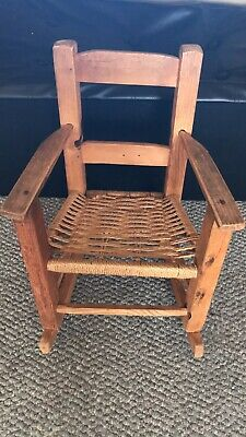 Antique Mini Rocking Chair Rare & Great Condition!