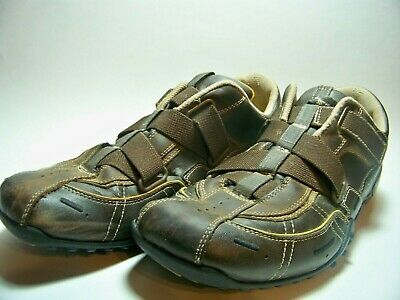 SKECHERS URBAN TRACK Palms Sneakers Shoes Size 9.5 Brown Leather