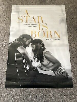 A Star is Born Lady Gaga 27x40 Authentic Original DS Double Sided Movie Poster