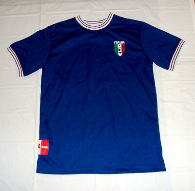 461927fc50a Italy Team Italia  4 Soccer Jersey Kid Athlete Brand YOUTH XL 14-16 EXC