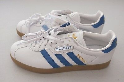 Adidas Originals Gazelle SZ 8 12, BB5254 Brown White Gold