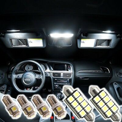 LED SMD Interior Set for AUDI S3 8L A3 8P 8PA A4 B6 B7 A6 C6 4F C5 A8 D2 6500K