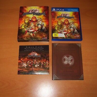 Grand Kingdom PS4 GAME with art booklet and soundtrack