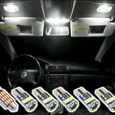 6x LED Interior Set for VW Golf 5 6 7 Passat 3C B6 B7 CC  4014 SMD 6500K