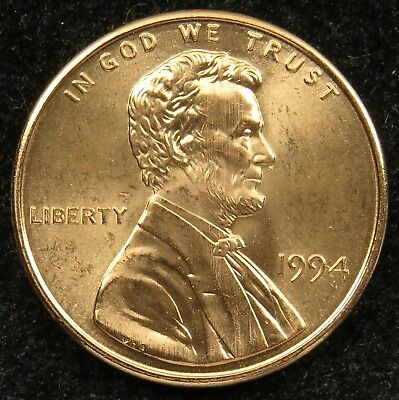 1994 Uncirculated Lincoln Memorial Cent BU (C01)