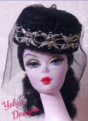 Dolls HANDMADE Dress Hat Clothes FOR Barbie Silkstone Vintage Reproduction Francie