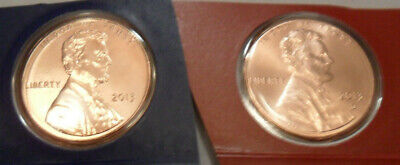 2013 P & D Lincoln Shield Cent / Penny Set  *MINT CELLO*  **FREE SHIPPING**
