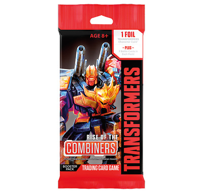 Transformers TCG Rise of the Combiners Booster Pack Wizards of the Coast WOTC