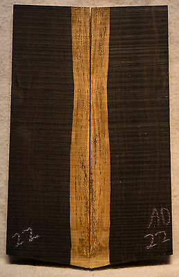 """African Blackwood #22 Knife Scales 5.8""""x1.8-2""""x5/16"""""""