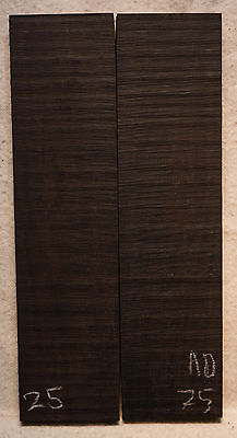 """African Blackwood #25 Knife Scales 5.2-5.8""""x1.5""""x5/16"""""""