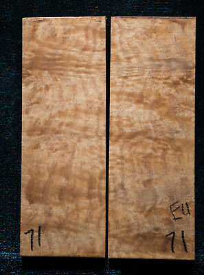 """Eucalyptus Burl #71 Knife Scales 5""""x1.7""""x3/8"""" see100 species in my store"""