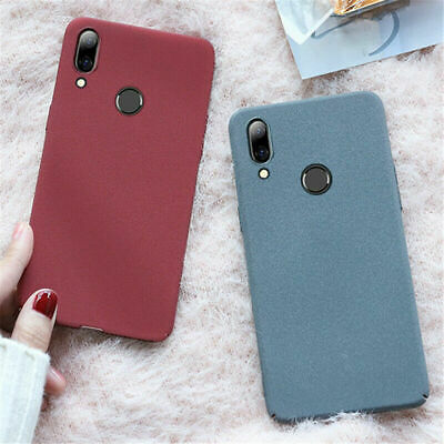 For Huawei P Smart Y5 Y6 Y7 Pro 2018 Y9 Shockproof Slim Hard PC Matte Case Cover