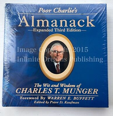 LATEST ENGLISH EDITION Poor Charlie's Almanack Wit & Wisdom of Charles T Munger