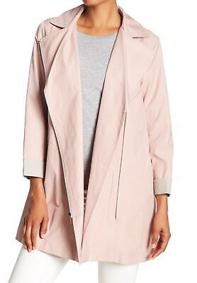 86ba64828fb Cole Haan NEW Canyon Rose Pink Womens Size Small S Moto Swing Coat $350 512