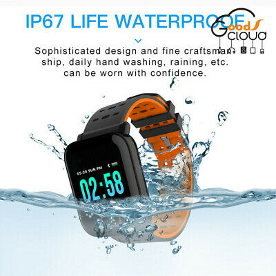 Waterproof Bluetooth Smart Wrist Watch Phone Mate For IOS Samsung Huawei Xiaomi