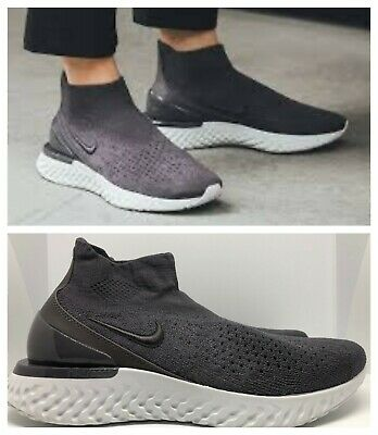 Details about NIKE WOMENS RISE REACT FLYKNIT Size 8 AV5553 226 Diffused Taupe NO LID