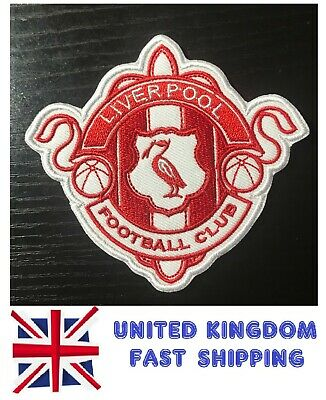 Vintage Liverpool LFC KOP Football Anfield Road Embroidered Iron Sew Badge Patch