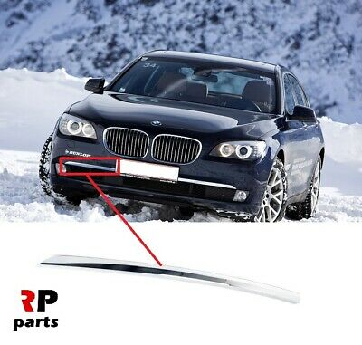 For Bmw 7 Series F01/F02 2009 - 2013 Front Bumper Lower Chrome Trim Right O/S