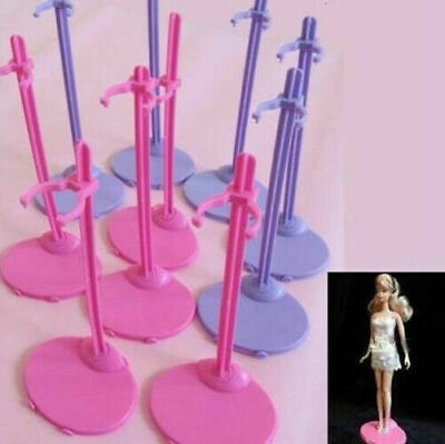 8 pcs/lot Doll Stand Mannequin Model Display Holder For 29cm Doll