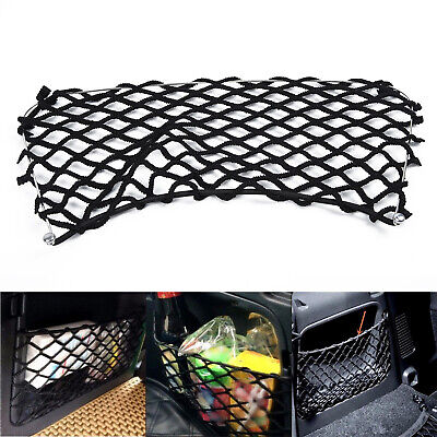 Rear Trunk Boot Net String Bag Storage Cargo Mesh For Benz Smart Fortwo 451 2009