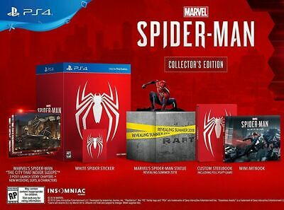 Marvel's Spider-Man Iv Collector's Edition English Sony Ps4 Collectors Spiderman