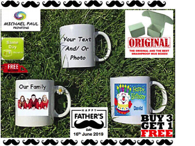 Personalised Mug Cup Your Text Photo CHRISTMAS BIRTHDAY FATHERS DAY Anniversary