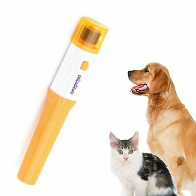 Useful Pet Dog Cat Nail Grooming Grinder Trimmer Clipper Electric Nail File Kit