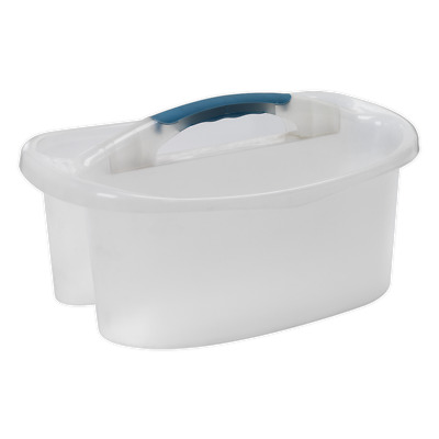 CC75 Sealey Double Compartment Wash Bucket [Cleaning Aids] Car Cleaning Buckets
