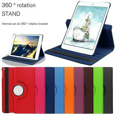 Smart PU Leather Rotating Stand Cover-Case For Apple iPad 9.7 6th Generation New