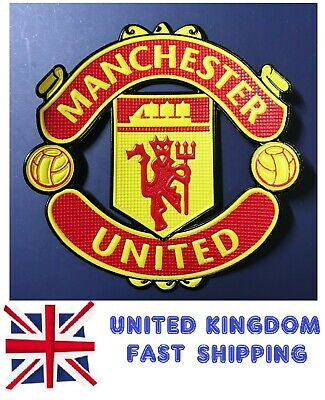 Old Manchester United Red Devil Old Trafford Embroidered Iron Sew Badge Patch