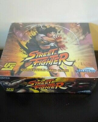Street fighter Ccg booster Display New & Sealed 24 packs of 10 Cards