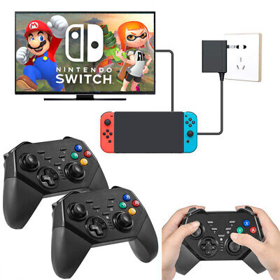 1x / 2x Wireless Bluetooth Pro Controller Vibration Gamepad for Nintendo Switch
