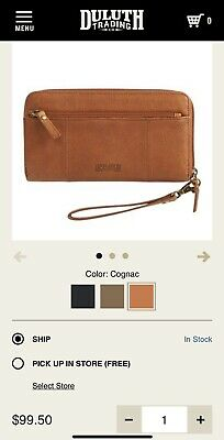 DULUTH TRADING COMPANY Lifetime Women's Wallet