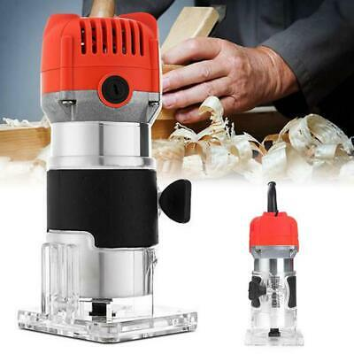 30000 RPM 450W Wood Palm Router Nonslip Hand Trimmer Router Edge Joiners Kit