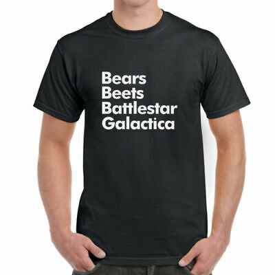 56fbea87 Bears Beets Battlestar Galactica - T-Shirt | The Office Dwight Schrute  Quotes