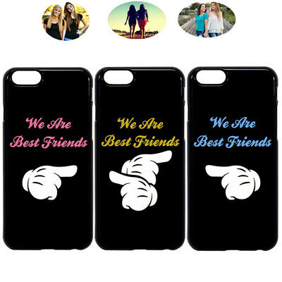 best loved d9426 b030e WE ARE FRIENDS Best Friend Bff Phone Case Cover For iPhone X XR 6 7 8 S8 S9  S10