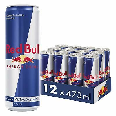 Red Bull Energy Drink 12 Pack of 473 ml Free Delivery CHEAPEST