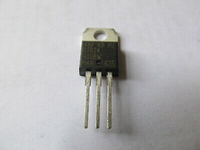 2pcs STM BTB24-800BW Thyristor TRIAC 800V 260A 3-Pin(3+Tab) TO-220AB