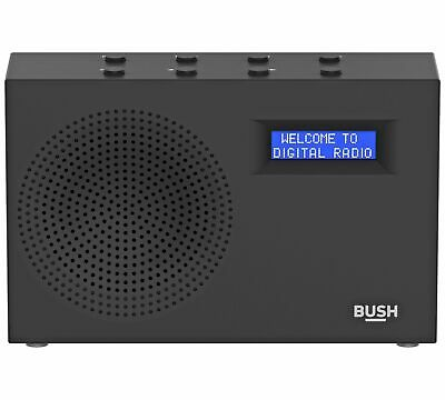 Bush DAB / FM Radio - Black - EE149