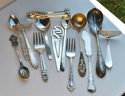 Vintage Sterling Silver Small Serving 13 Pieces 224gr.