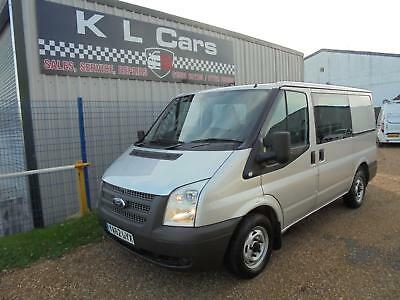 2013 Ford Transit 2.2 / 100Ps / EU5 / 280S / 6 Seater / Double Cab Crew Van Bus