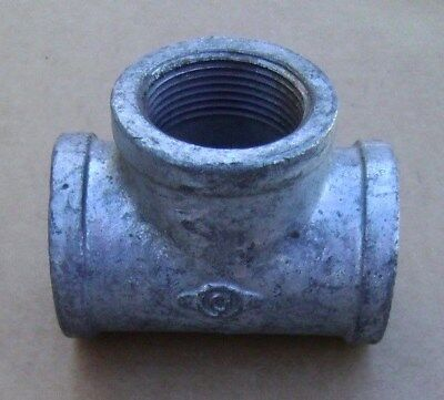 "Pipe TEE 1-1/4"" Inch Lot of 5 NEW NOS Plumbing Pipe Fitting"
