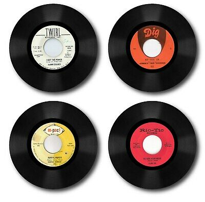 Christmas Gifts Mod,Record Labels 4 Slate Coasters,Northern Soul,Motown