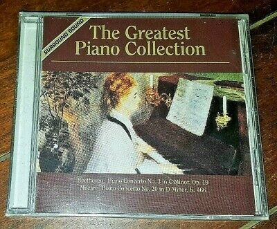 The Greatest Piano Collection: Beethoven/Mozart (CD, 2000, Platinum)