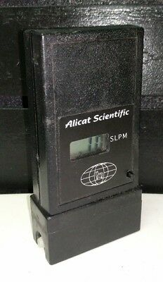 Mint 1980s 1990s Alicat Scientific Flow Meter Handheld SLPM PVU-5000-S PVU5000S