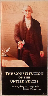 Pocket Size Constitution of the United States & Declaration of Independence NEW