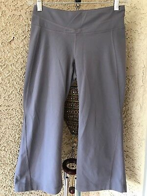 071dcffe08 LUCY POWERMAX CAPRI Hatha Leggings Crop Taupe Gray Pants Yoga Sz XS ...