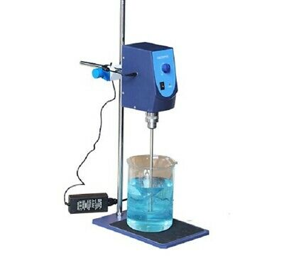 Analog Overhead Stirrer with Stirring Rod and Stand, 20L Capacity