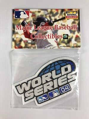 0fa8cc4d8 St. Louis Cardinals Boston Red Sox 2004 World Series Jersey Patch New