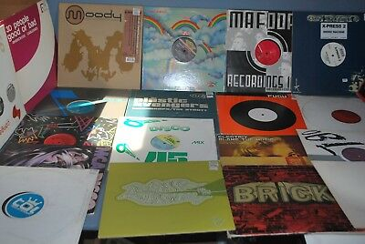 "Lot of 7  Vinyl 12"" Records EDM Disco Rap Dance Pop Boogie RnB Hip-Hop Funk"